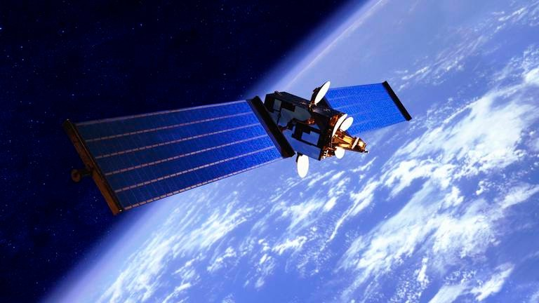 An image that illustrates this article Iraq unveils plan to build and launch satellite