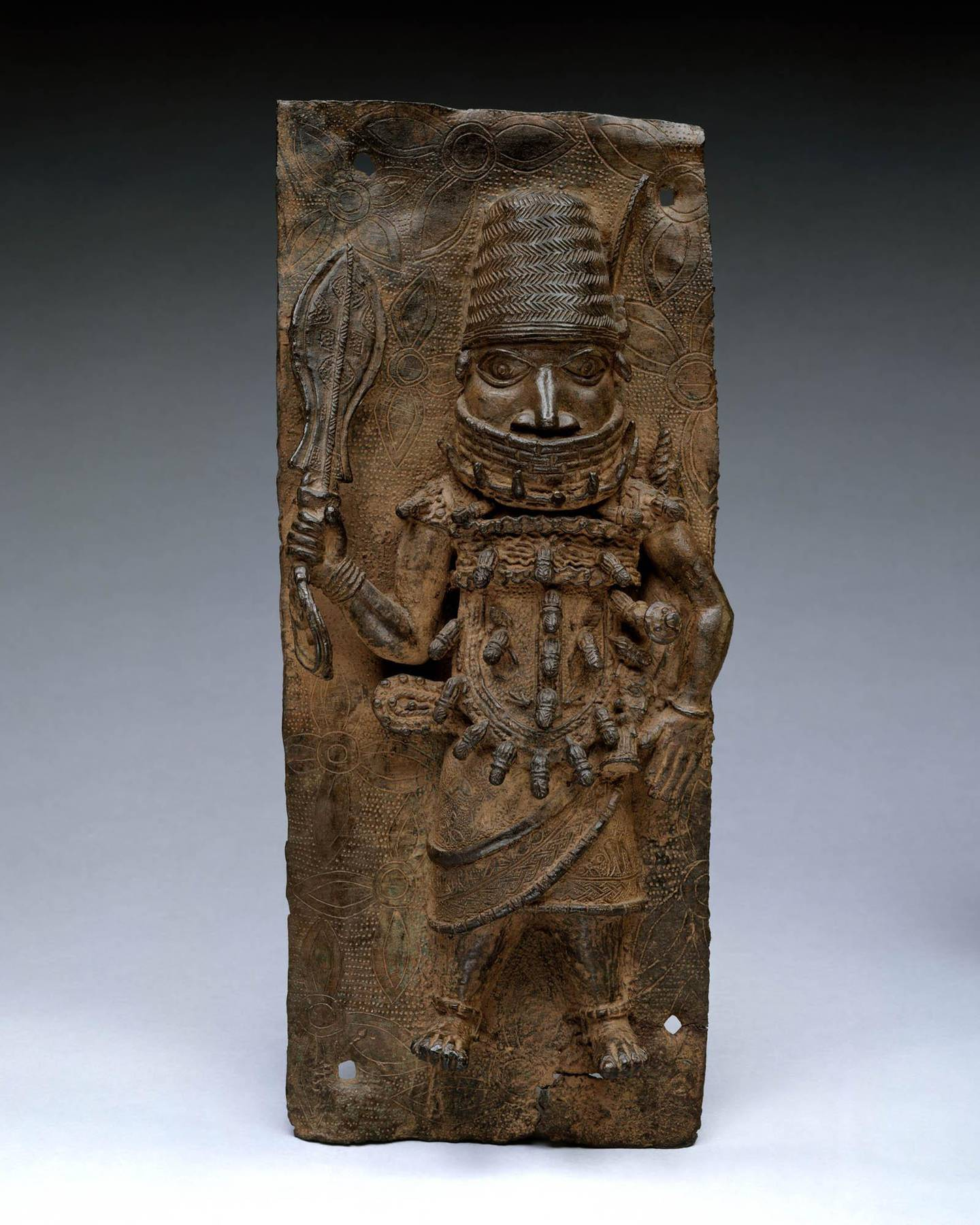 Warrior Chief. Courtesy Metropolitan Museum of Art
