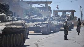 Syrian regime re-enters Deraa to end fighting after Russian deal