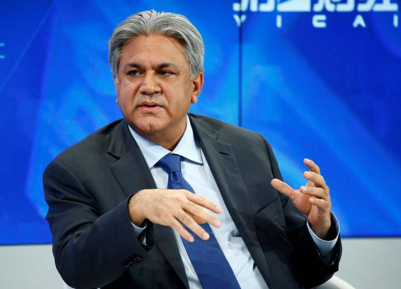 FILE PHOTO: Arif Naqvi, Founder and Group Chief Executive of Abraaj Group attends the annual meeting of the World Economic Forum (WEF) in Davos, Switzerland, January 17, 2017. REUTERS/Ruben Sprich/File Photo