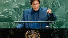 Imran Khan warns of nuclear war as Kashmir crisis dominates UN speech