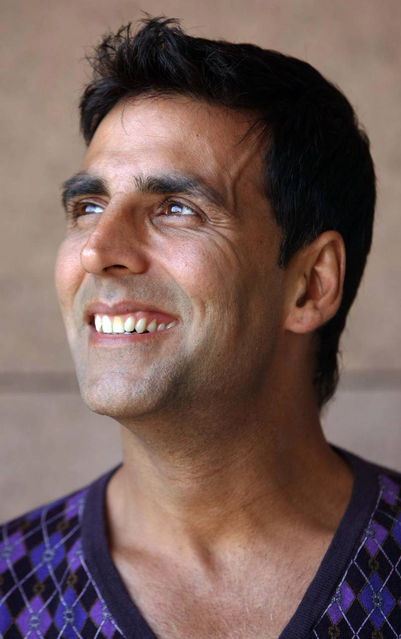 ABU DHABI. 14th October. 2009. MEIFF 2009. Bollywood actor Akshay Kumar relaxing at the Emirates Palace hotel yesterday(weds) before the world premiere of his film Blue  at the Middle East International Film Festival in Abu Dhabi.  Stephen Lock   /   The National *** Local Caption ***  SL-blue-004.jpg