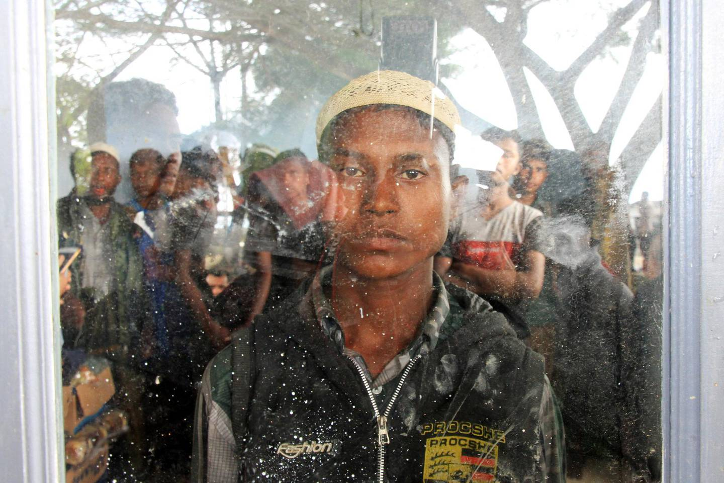 Rohingya Muslim people as seen inside a room at Kuala Idi Rayeuk port after arriving on a wooden boat in Aceh Timur, Indonesia, December 4, 2018.  Antara Foto/Syifa Yulinnas via REUTERS -  ATTENTION EDITORS - THIS IMAGE WAS PROVIDED BY A THIRD PARTY. MANDATORY CREDIT. INDONESIA OUT. NO COMMERCIAL OR EDITORIAL SALES IN INDONESIA     TPX IMAGES OF THE DAY