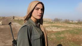 Kurdish women take up arms in fight against ISIL