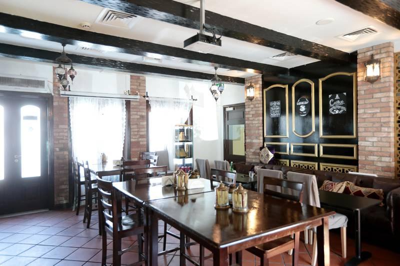 Abu Dhabi, United Arab Emirates, April 16, 2016:    Living Room Cafe in the Khalidiya Village area of Abu Dhabi on April 16, 2016. Christopher Pike / The National  Job ID: 92745 Reporter: Jessica Hill Section: Arts & Life Keywords:  *** Local Caption ***  CP0416-al-Living Room Cafe-03.JPG