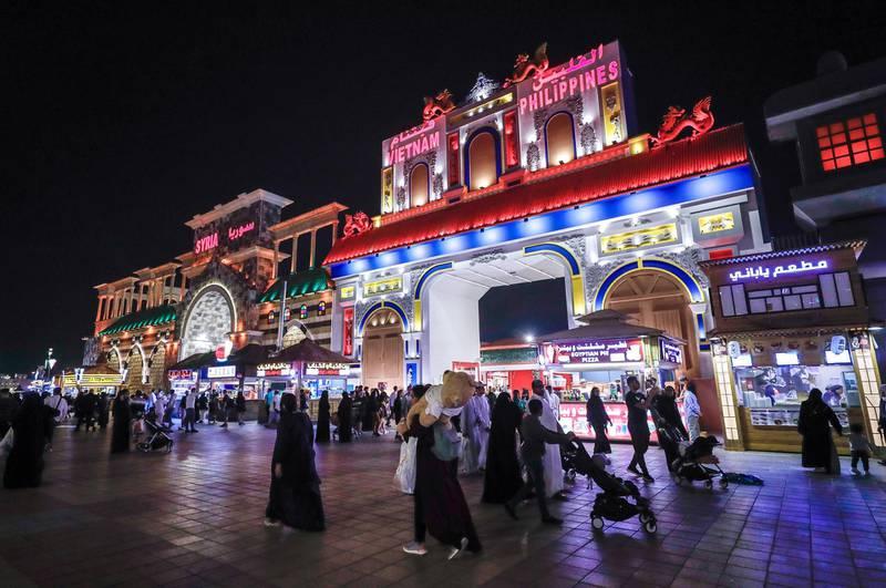 Abu Dhabi, United Arab Emirates, January 5, 2020.  --  Vietnam and Philippines Pavillion.Photo essay of Global Village.Victor Besa / The NationalSection:  WKReporter:  Katy Gillett