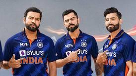 India unveil new T20 World Cup jersey on Dubai's Burj Khalifa