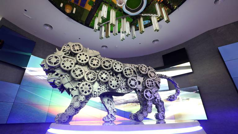 An image that illustrates this article Expo 2020 Dubai: First glimpse inside India's glittering pavilion