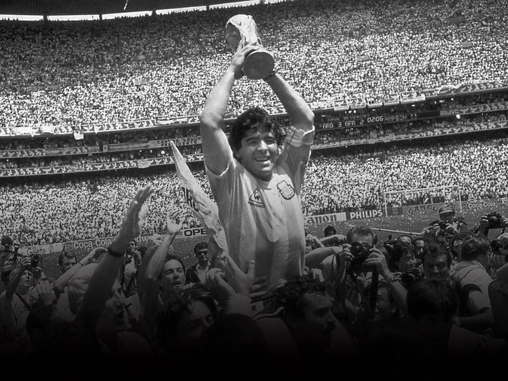 Image for Argentina legend Diego Maradona dies at 60