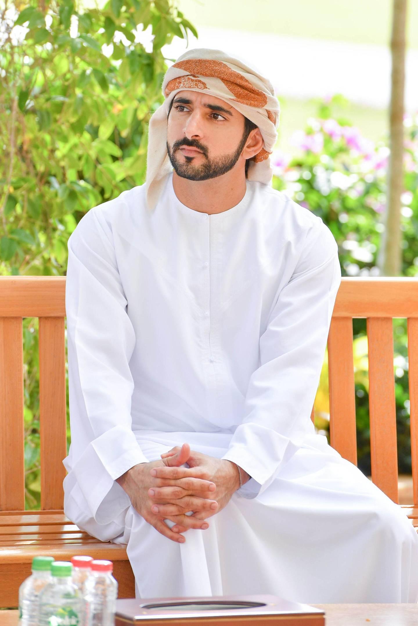 Sheikh Hamdan bin Mohammed bin Rashid Al Maktoum, Crown Prince of Dubai. Dubai Media Office / Wam
