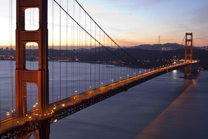 Golden Gate Bridge and San Francisco (Getty Images)