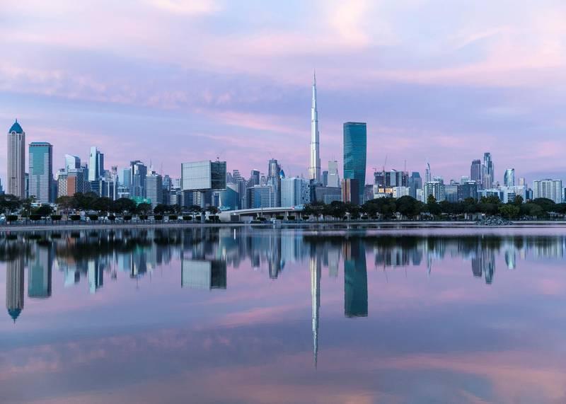 DUBAI, UNITED ARAB EMIRATES. 26 DECEMBER 2020. Dubai skyline.(Photo: Reem Mohammed/The National)Reporter:Section: