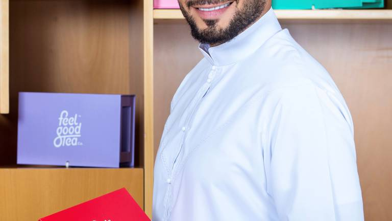 An image that illustrates this article Generation Start-up: How an Emirati tea company is trying to add flavour to your brew
