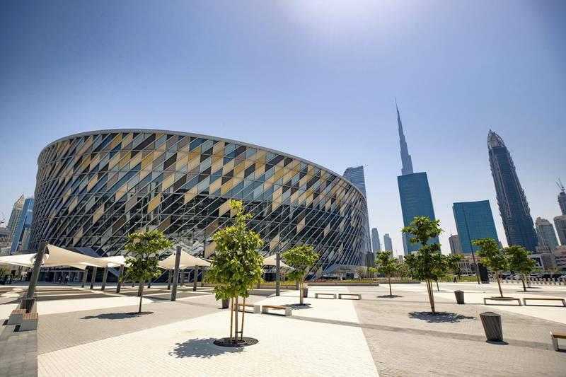 Dubai, United Arab Emirates - April 16, 2019: Exclusive first look inside the new Coca-Cola Arena in Dubai. Tuesday the 16th of April 2019. City Walk, Dubai. Chris Whiteoak / The National
