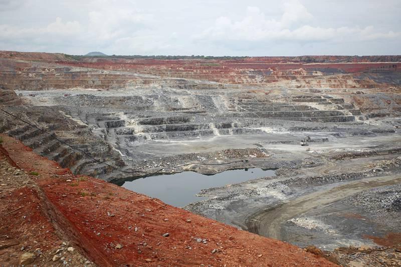 D30446 Kansanshi open cast copper mine 80% owned by Kansanshi Mining PLC, a First Quantum subsidiary.