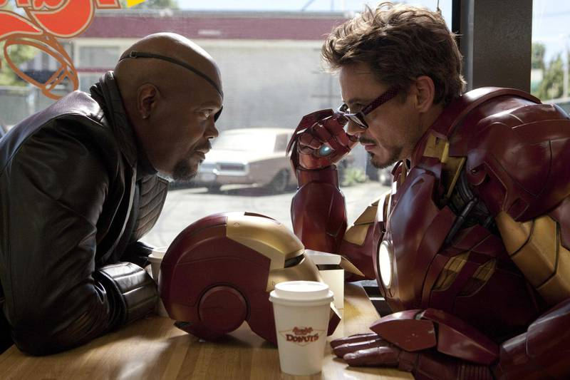 Iron Man 2. Courtesy Marvel
