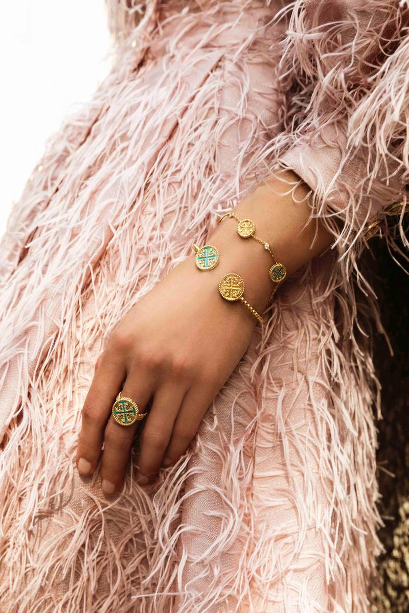 Lace jewellery, from Dh3,995, by Damas