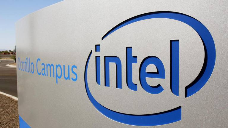An image that illustrates this article Intel profits up but revenue falls below expectations