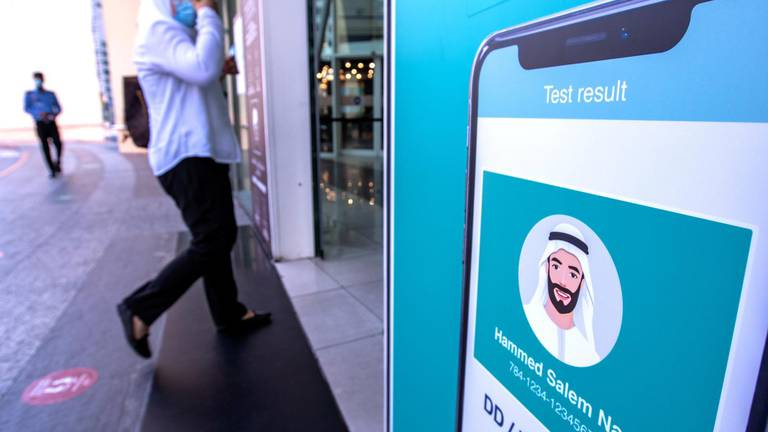 An image that illustrates this article Abu Dhabi entry rules: Al Hosn app key to new changes