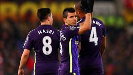 'We needed this': Sergio Aguero powers Manchester City in commanding Stoke win
