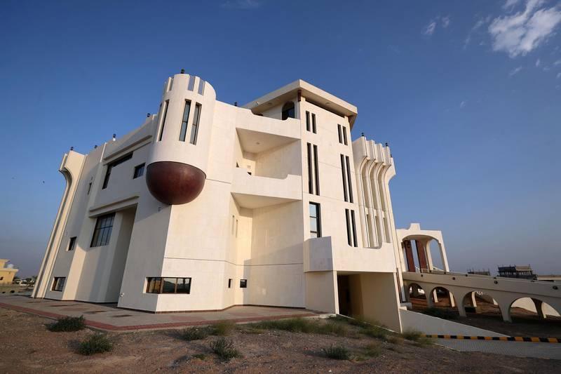 Ras Al Khaimah, United Arab Emirates - Reporter: Anna Zacharias: A look inside Al Qasimi Haunted Palace. Thursday, January 2nd, 2020. Ras Al Khaimah. Chris Whiteoak / The National