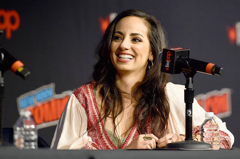 NEW YORK, NEW YORK - OCTOBER 04: Sandra Saad speaks onstage during Marvel Game Panel at New York Comic Con 2019 - Day 2 at Hulu Theater at Madison Square Garden on October 04, 2019 in New York City.   Ilya S. Savenok/Getty Images for ReedPOP /AFP