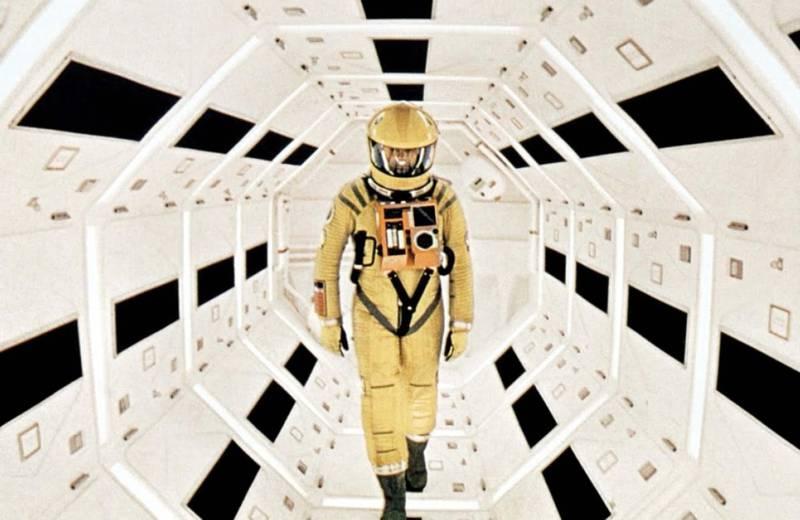 A movie still from Stanley Kubrick's 1968 science fiction film '2001: A Space Odyssey' starring Gary Lockwood. Courtesy Metro-Goldwyn-Mayer