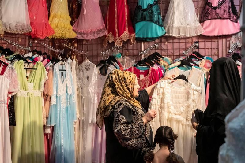 ABU DHABI. UNITED ARAB EMIRATES. 29 MAY 2019. The Ramadan market at ADNEC. (Photo: Antonie Robertson/The National) Journalist: Saeed Saeed. Section: National.