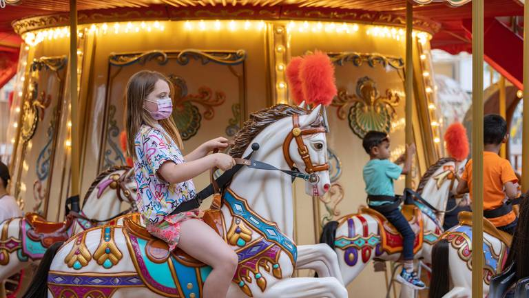 An image that illustrates this article Best pavilions and things to do for children at Expo 2020 Dubai