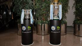 Man City's Premier League and Carabao Cup trophies to go on display at Expo 2020 Dubai