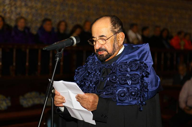 The University of Coimbra in Portugal honoured Sheikh Dr. Sultan bin Muhammad Al Qasimi, Member of the Supreme Council Ruler of Sharjah, with an Honourary Doctorate (Honoris Causa Doctorate Degree) in recognition of his efforts for supporting culture, literature and history on local and international fronts.