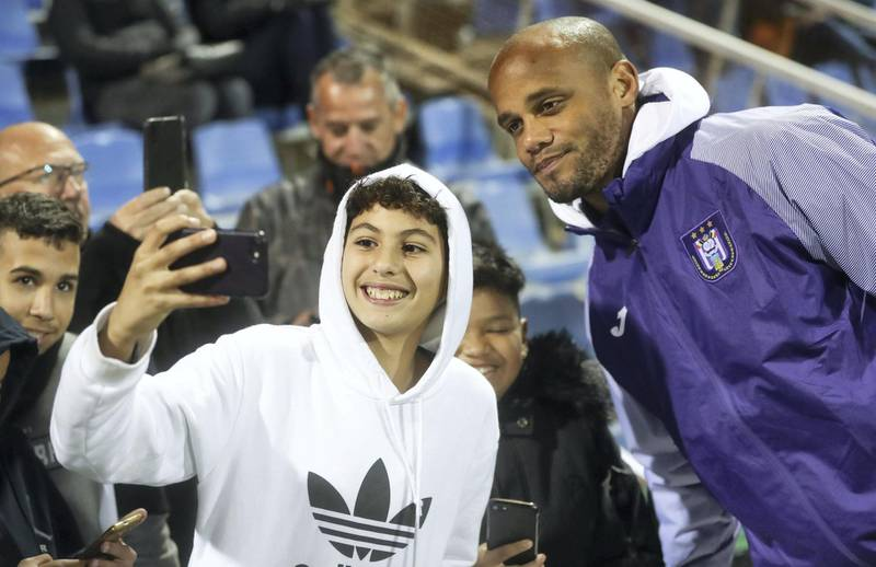 Anderlecht's Vincent Kompany pictured during a friendly soccer game between Belgian team RSC Anderlecht and Scottish Livingston F.C., Saturday 11 January 2020 in San Pedro Del Pinatar, Spain, at their winter training camps. BELGA PHOTO VIRGINIE LEFOUR. No Use Belgium.