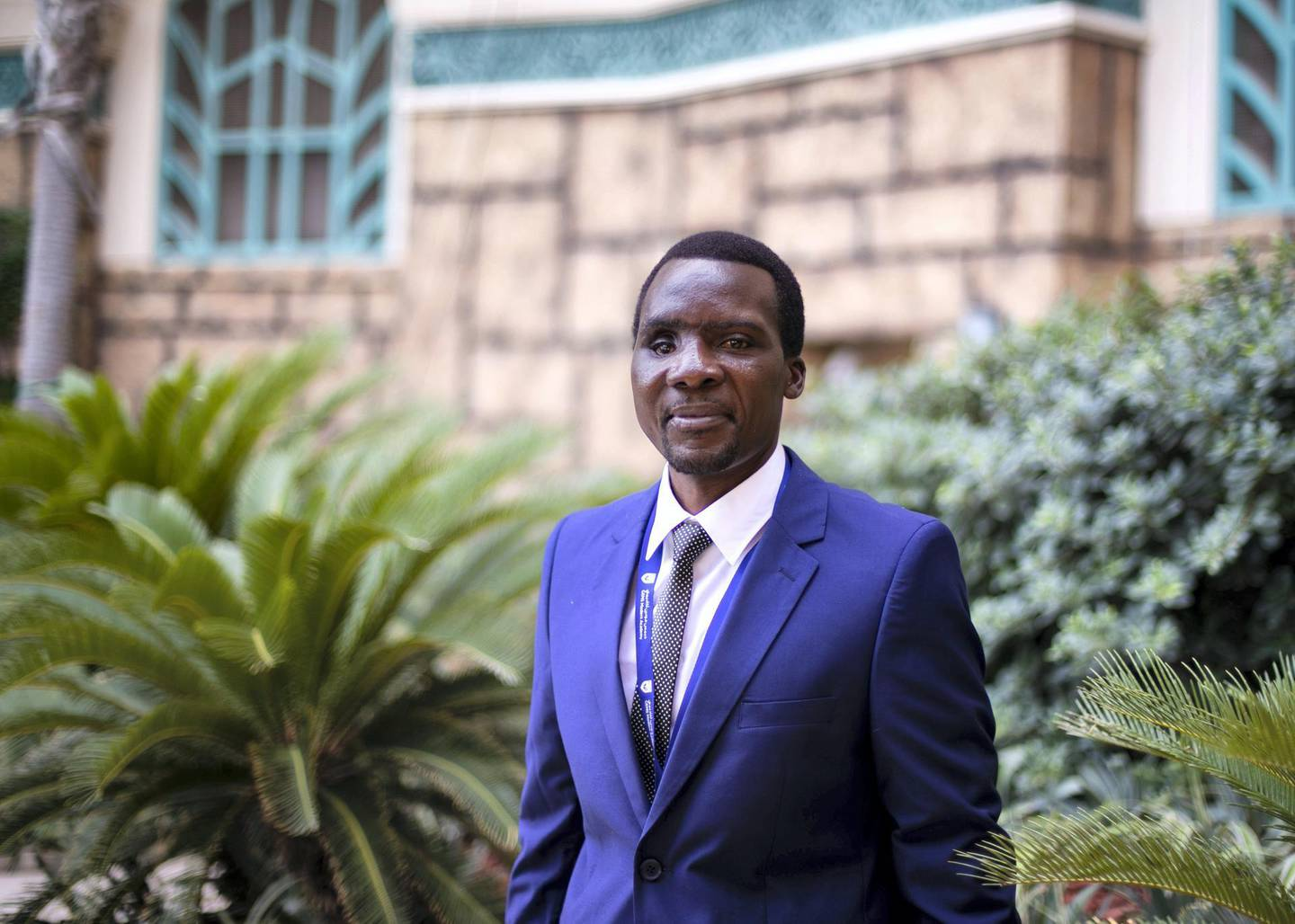 DUBAI, UNITED ARAB EMIRATES. 29 AUGUST 2019. Isaac Able from Tanzania joins GEMS education as a Math teacher.(Photo: Reem Mohammed/The National)Reporter:Section: