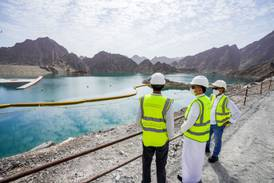 UAE's Hatta waterfalls to be completed in 2022