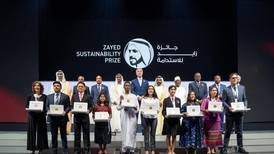 Winners of 2019 Zayed Sustainability Prize announced