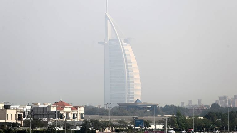 An image that illustrates this article UAE weather: fair and hazy, with humidity at night