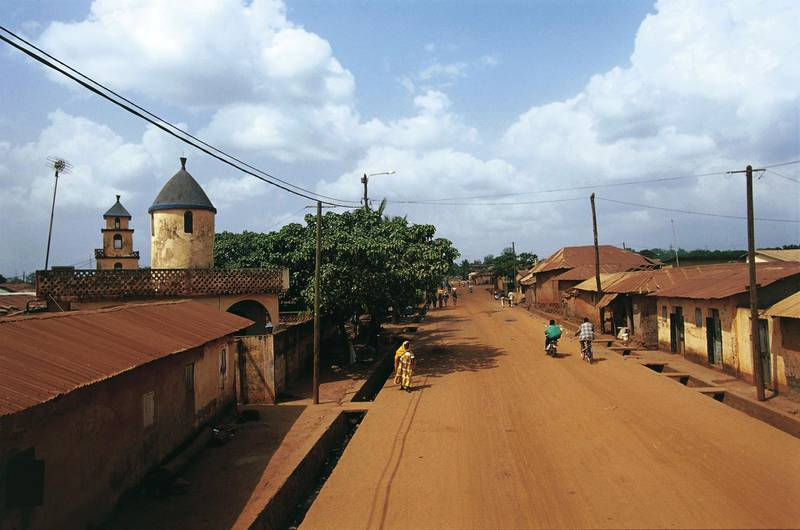 View of Sokode, Togo.