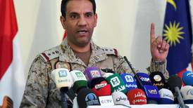 Saudi Arabia says fighter jet crashed during Yemen mission