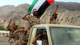 To UAE troops: thank you for protecting the nation