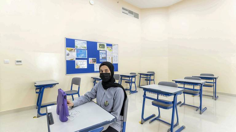 An image that illustrates this article Sharjah private school pupils back to in-person classes by end of October