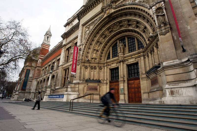 A general view of the Victoria and Albert Museum is seen in London, U.K., Friday, December 15, 2006.  Photographer: Rukhsana Hamid/Bloomberg News