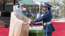 Sheikh Saif bin Zayed attends a police academy graduation - in pictures
