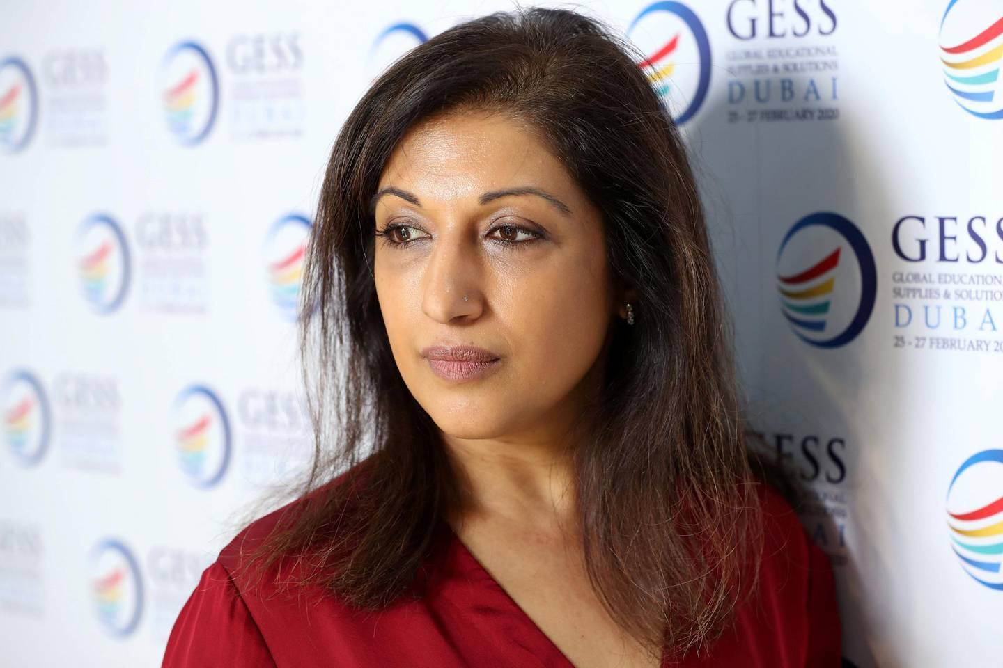 Dubai, United Arab Emirates - Reporter: Anam Rizvi: Tanya Dharamshi, Clinical Director at Priory speaks about 'Why are UAE Teachers at Risk of Increased Stress'. Thursday, February 27th, 2020. World Trade centre, Dubai. Chris Whiteoak / The National