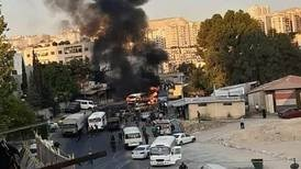 Damascus military bus explosion kill 1, injures 3