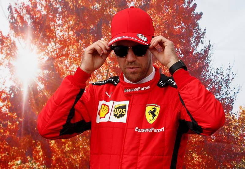 Formula One F1 - Australian Grand Prix - Melbourne Grand Prix Circuit, Melbourne, Australia - March 12, 2020   Ferrari's Sebastian Vettel during Media day   REUTERS/Edgar Su