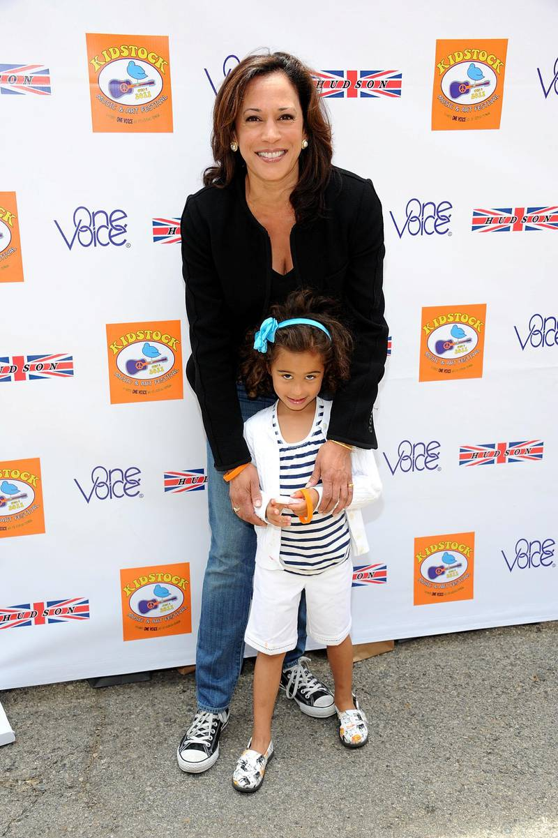 BEVERLY HILLS, CA - JUNE 05: Attorney General Kamala Harris arrives at the 5th Annual Kidstock To Benefit One Voice Scholars Program sponsored by Hudson Jeans at Greystone Mansion on June 5, 2011 in Beverly Hills, California.   Michael Kovac/Getty Images for One Voice/AFP