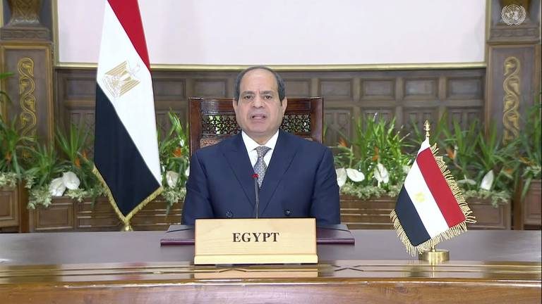 An image that illustrates this article El Sisi: Egypt willing to host Cop27 next year