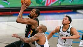 NBA playoffs: Nets, minus James Harden, crush Bucks to take 2-0 series lead