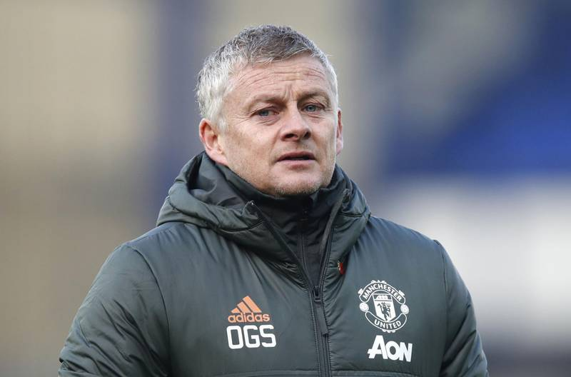 File photo dated 07-11-2020 of Manchester United manager Ole Gunnar Solskjaer. PA Photo. Issue date: Tuesday December 22, 2020. Manchester United manager Ole Gunnar Solskjaer insists his side are desperate to win a trophy having gone three seasons without silverware. See PA story SOCCER Man Utd. Photo credit should read Clive Brunskill/PA Wire.