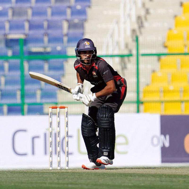 Chundangapoyil Rizwan. credit:  Abu Dhabi Cricket